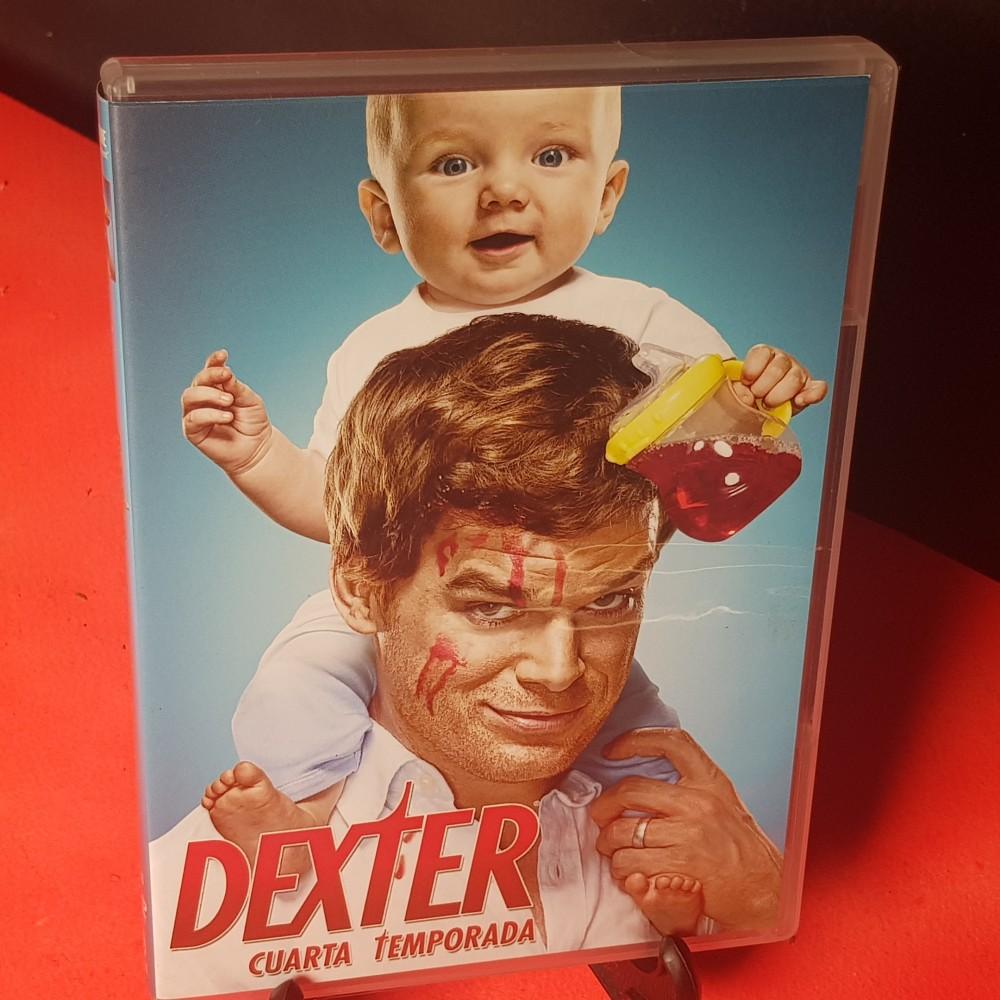 Dexter cuarta temporada DVD