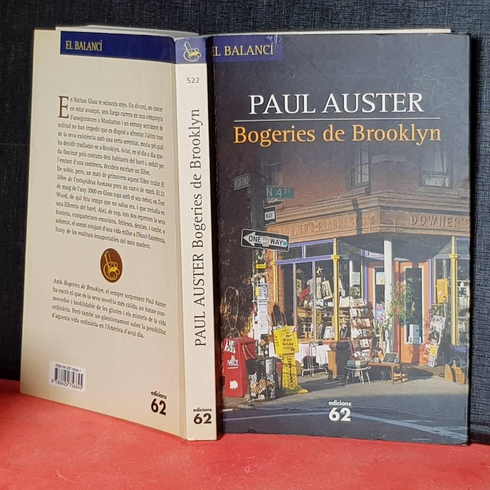 Novel.les en català librería online Bogeries de Brooklyn Paul Auster