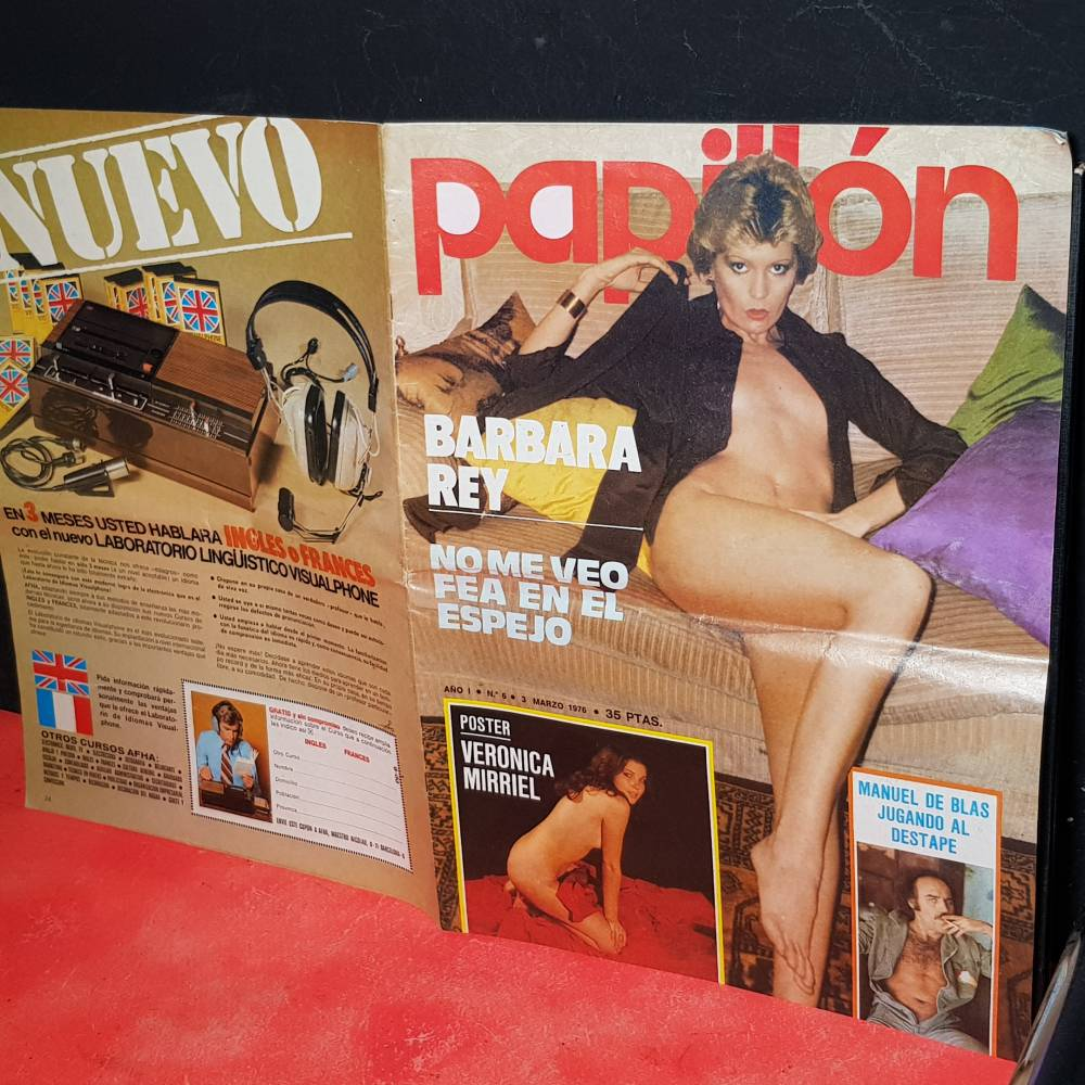 Barbara Rey Porno revista erótica lib 198 1980 rosa valenty norma duval sala