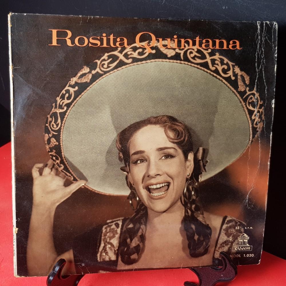 Vinilo Rosita Quintana Viendo Tocar Un Mariachi 5